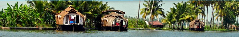 Kerala houseboats, kettuvallams, houseboat in Kerala